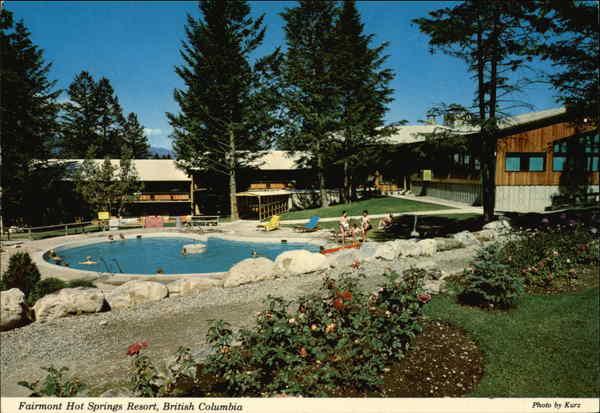 Fairmont hot springs resourt canada british columbia