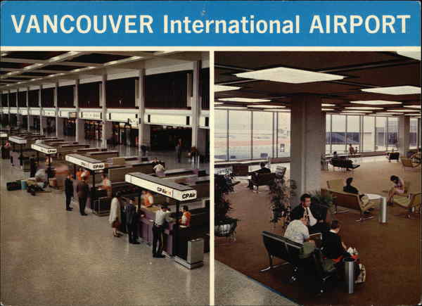 Vancouver Inernational Airport Canada British Columbia