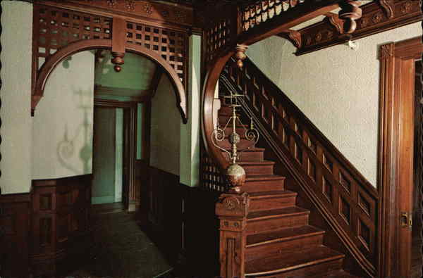 Winchester Mystery House Staircase San Jose Ca