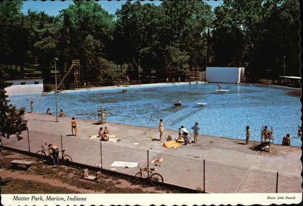Matter park marion in for Community swimming pool grants