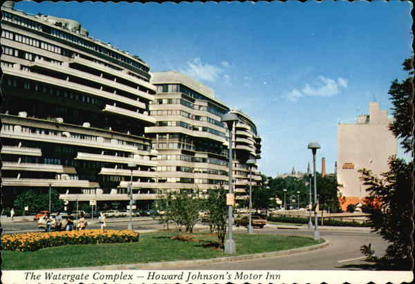 The Watergate Complex - Howard Johnson's Motor Inn Washington District of Columbia