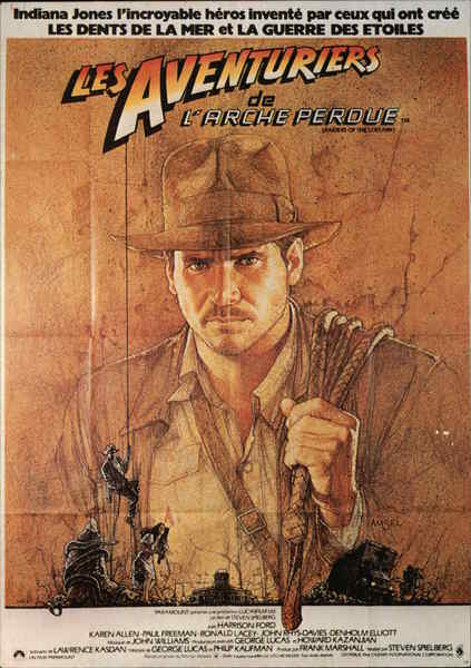 Raiders of the Lost Ark - Harrison Ford Movie and Television Advertising