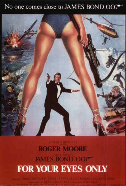 James Bond 007 - For Your Eyes Only Movie and Television Advertising