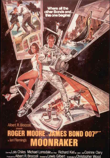 James Bond 007 - Moonraker Movie and Television Advertising
