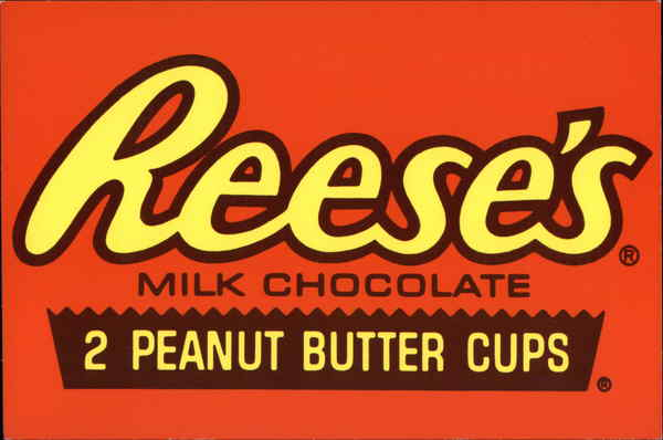 Reese's Peanut Butter Cups Modern (1970's to Present)