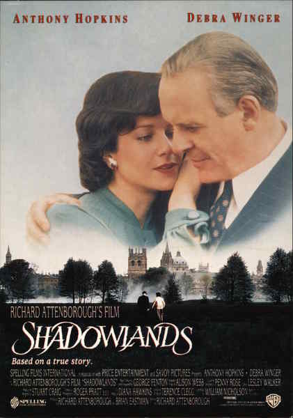 Shadowlands - Anthony Hopkins and Debra Winger Movie and ...