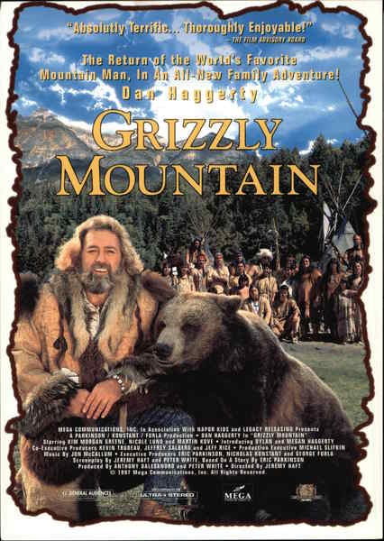 Grizzly Mountain Movie and Television Advertising
