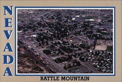 Aerial View of Battle Mountain
