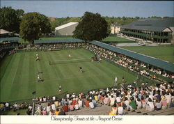 Championship Tennis at the Newport Casino