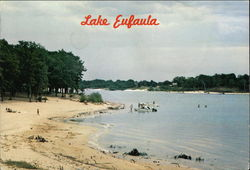 The Sandy Beach at Lake Eufaula