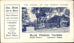 Blue Pigeon Tavern, Bass Point
