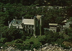 Aerial View of Hammond Castle