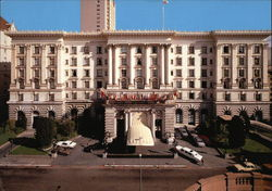 The Fairmont Hotel - Atop Nob Hill
