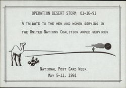 National Post Card Week, May 5-11, 1991