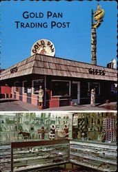 Gold Pan Trading Post Postcard