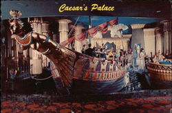 Cleopatra's Barge at Caesar's Palace