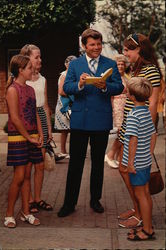 Bob Hastings With Young Fans