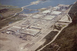 Aerial View of Alcan Smelters and Chemicals