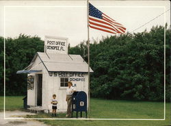 US Post Office Postcard