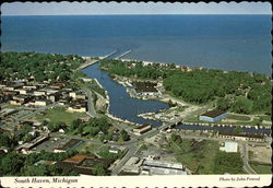 Aerial view of South Haven