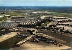 O'Hare International Airport Postcard