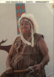 Chief Roaring Bull, Niantic-Narragansett Tribe