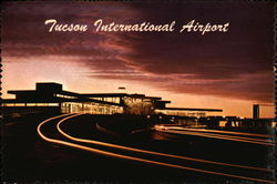 Tucson International Airport Postcard