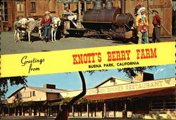 Greetings from Knott's Berry Farm