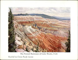 The Painted Buttresses of Cedar Breaks