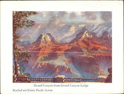 Union Pacific Grand Canyon Lodge dinner menu