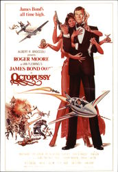 "Roger Moore Starring as James Bond 007 in ""Octopussy"""