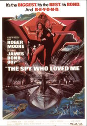 "Roger Moore Starring in ""The Spy Who Loved Me"""