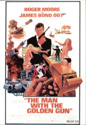 "Roger Moore Starring in ""The Man with the Golden Gun"""