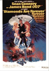 "Sean Connery Starring in ""Diamonds are Forever"""
