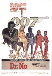 "Ian Fleming's ""Dr. No"" - The First James Bond Film Adventure"