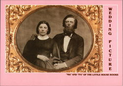 Wedding Picture, Ma and Pa Ingalls of the Little House Books
