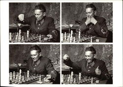 Tito Playing Chess