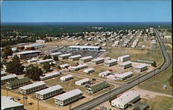 Aerial of Fort Polk Louisiana Army