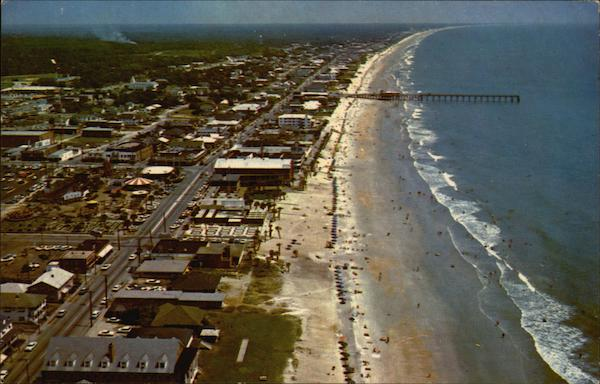 Aerial View Looking North Myrtle Beach South Carolina