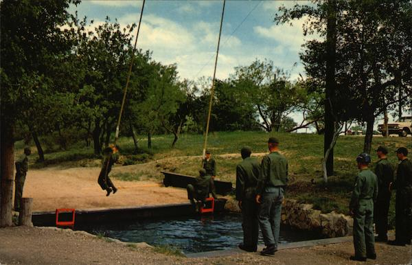 Lackland Air Force Base Obstacle Course San Antonio Texas