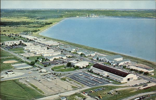 Aerial View of US Naval Air Station Dallas Texas