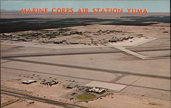 Marine Corps Air Station And Municipal Airport Yuma Az