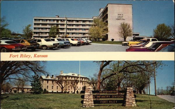 Irwin Army Hospital and Headquarters Building Fort Riley Kansas