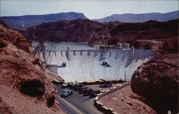 Hoover Dam and Lake Mead Las Vegas Nevada