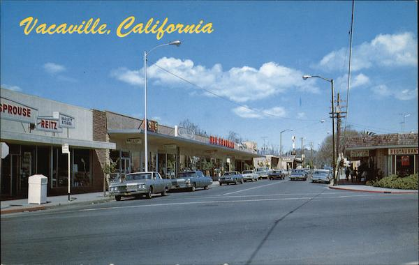 A View of the Street Vacaville California