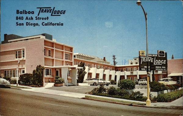 Balboa TraveLodge, 840 Ash Street San Diego California