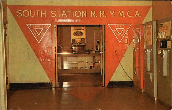 South Station Railroad Branch of the Boston Y.M.C.A Massachusetts
