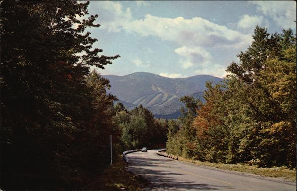 Cannon Mountain and Mittersill Slopes Franconia New Hampshire