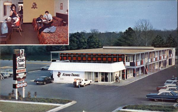 Econo-Travel Motor Hotel, Sleep Tight, America Roanoke Virginia