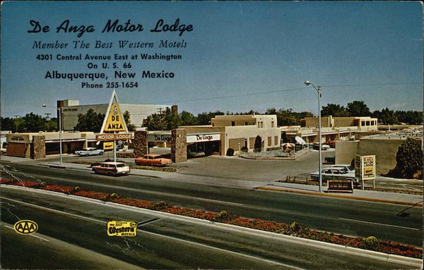 De Anza Motor Lodge Albuquerque New Mexico